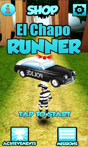 El Chapo Escape Prison Runner