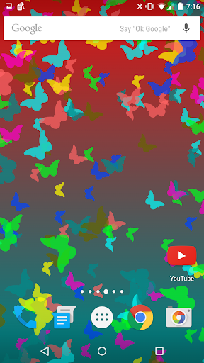 Colorful Dynamic Backgrounds