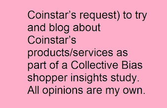 Photo: I have been paid (at Coinstar's request) to try and blog about Coinstar's products/services as part of a Collective Bias shopper insights study. All opinions are my own.