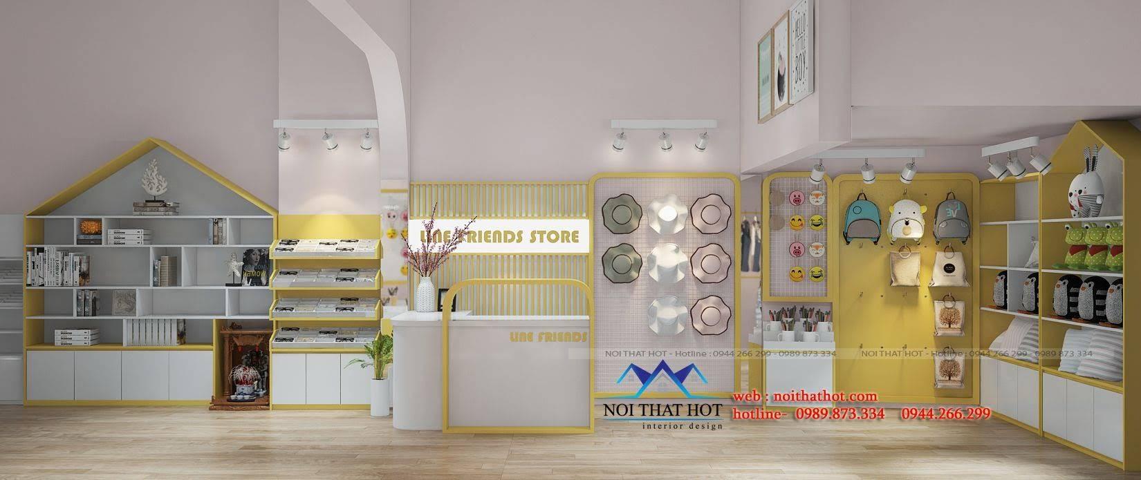 thiết kế cửa hàng lưu niệm tại lò đúc 2