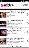 Screenshot of Celebrity Update ™