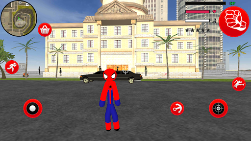 Amazing Spider-StickMan Rope Hero Gangstar Crime filehippodl screenshot 3