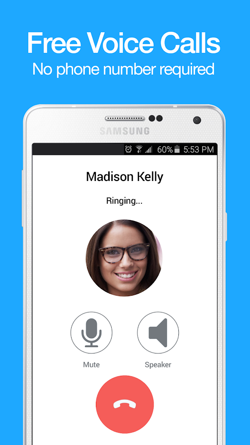 Yabb Text and Voice Messenger- screenshot