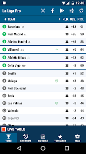 Liga Spain Pro Screenshot