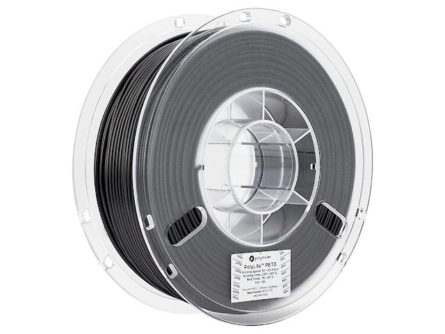 Polymaker PolyLite PETG Black - 1.75mm (1kg)