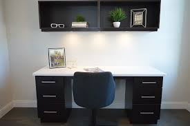 You can add a home office area to rooms in your home.