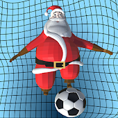Santa Goalkeeper