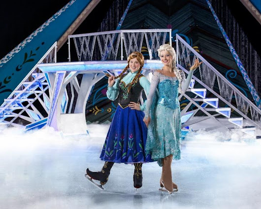 Winter Wonderland beyond All Imagination at Disney On Ice San Diego