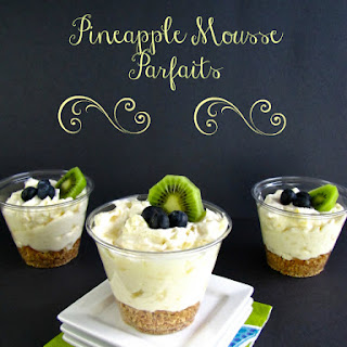 Pineapple Mousse Parfaits Recipe