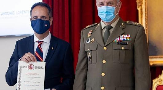 El almeriense José Antonio Lorente, nombrado embajador de la 'Marca Ejército'