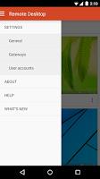 Screenshot of Microsoft Remote Desktop