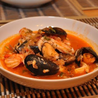 Hearty Seafood Soup
