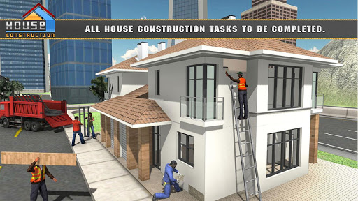 House Building Construction Games - City Builder  screenshots 2