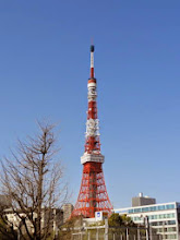 Photo: 2012年04月12日伸び縮み 音芸、新学期初日東京タワーは修理のため縮むが学生の可能性を少しでも伸ばせれば…
