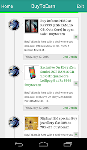 BuyToEarn : Deals and Coupons screenshot 2