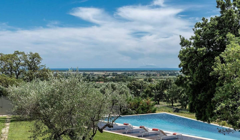 Villa avec piscine et terrasse Castiglione della Pescaia