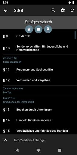 Lawdroid – Deutsche Gesetze und EU-Recht screenshot 7