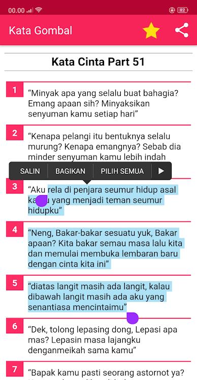 Kata Gombal Romantis Bikin Baper Android تطبيقات Appagg
