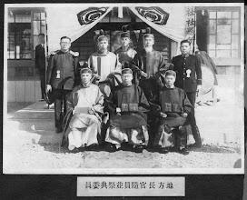 Photo: 地方長官隨員及祭典委員