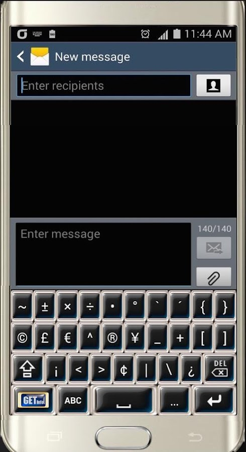 Big Quick Keyboard Free- screenshot