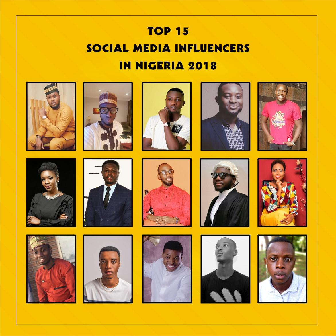 Top 15 Brand Influencers in Nigeria