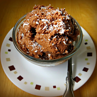 Dairy Free German Chocolate Ice Cream