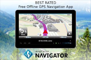MapFactor GPS Navigation Maps - screenshot thumbnail 09
