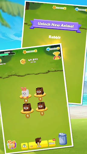 Cubes Rush-Wonder Park screenshot 1