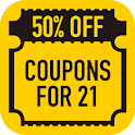 Discounts Coupons for Forever 21 Fashion Deals icon