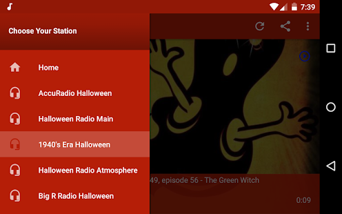 Spooky Halloween Radio - Android Apps on Google Play