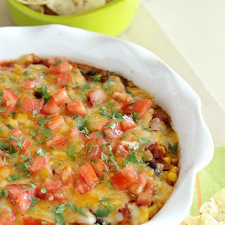 Southwestern Bean & Cheese Dip