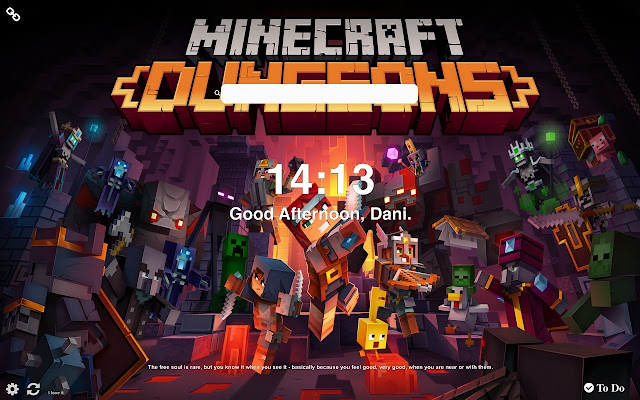 Minecraft Dungeons HD Wallpapers New Tab