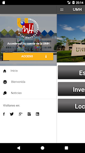 UMH app- screenshot thumbnail