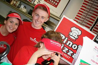 Photo: I see Pino`s Pizza only 19 times in this shot hahahahahahahaha