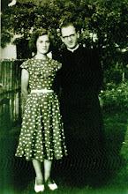 Photo: Orvos - Nagy Istvánné Kele Ilona újmisés testvérével Kele Pállal