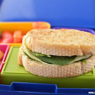 Veggie Sandwich on Homemade French Bread Lunch.