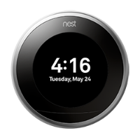 Nest thermostat farsight digital clock