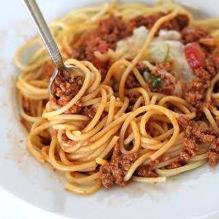 Pinoy Spaghetti.