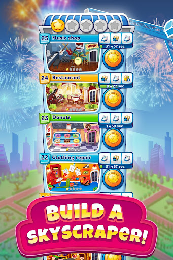 Pocket Tower: Building Game & Megapolis Kings apkdebit screenshots 9