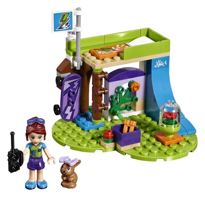Contenido de Lego® 41327 Dormitorio de Mia