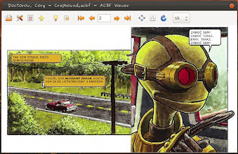 Photo: Text-layer drawn automatically to fit into comic bubbles (Slovak translation)
