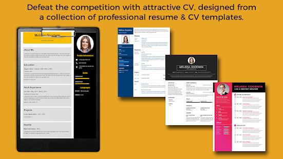 CV Builder, Resume Writer, Modern CV Design - Apps on Google Play