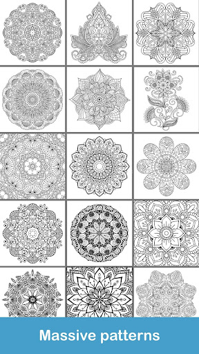 100+ Mandala coloring pages  screenshots 7