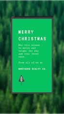 Merry Christmas Trees - Christmas item
