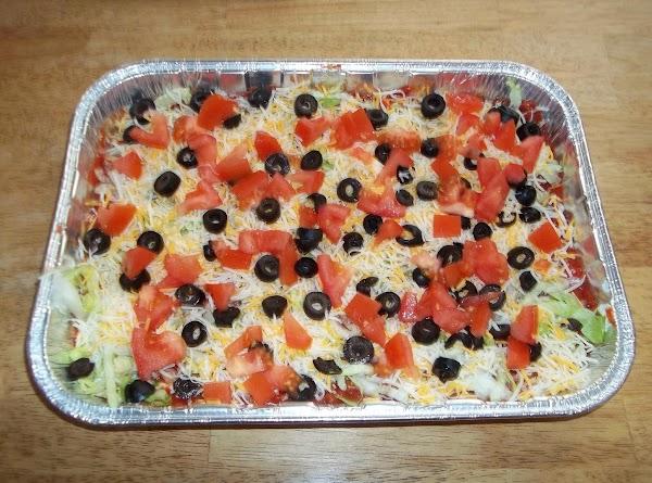 Seven-layer Bean Dip Recipe