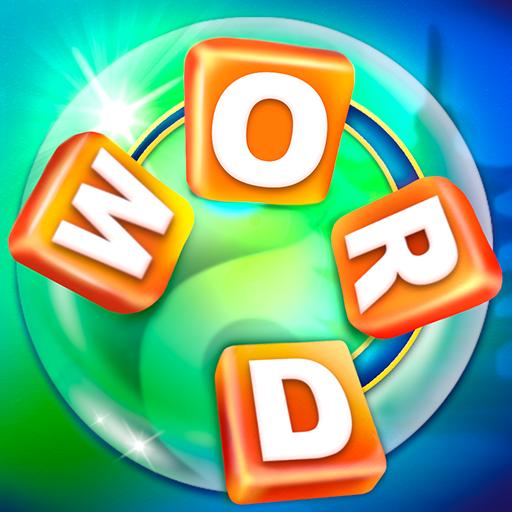 Cérebro desafiador jogo de palavras cruzadas e divertido de palavras para treinar vocabulário