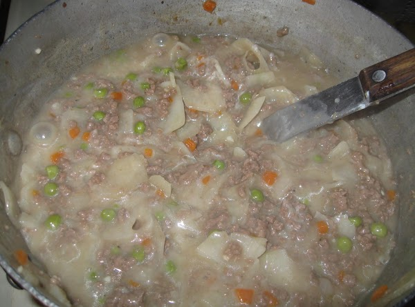 Increase heat and bring to good boil, then add the cornstarch to the remaining...