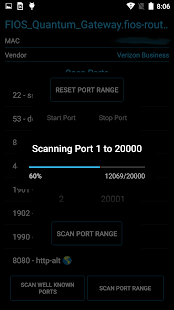 Port Authority - Port Scanner- screenshot thumbnail