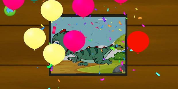 Download Dinosaur Puzzle : Jigsaw kids Free Puzzles game For PC Windows and Mac apk screenshot 5
