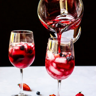 Strawberry Red Wine Sangria | a Mother's Day Cocktail